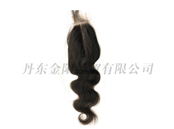 Real hair wig accessories 2×6